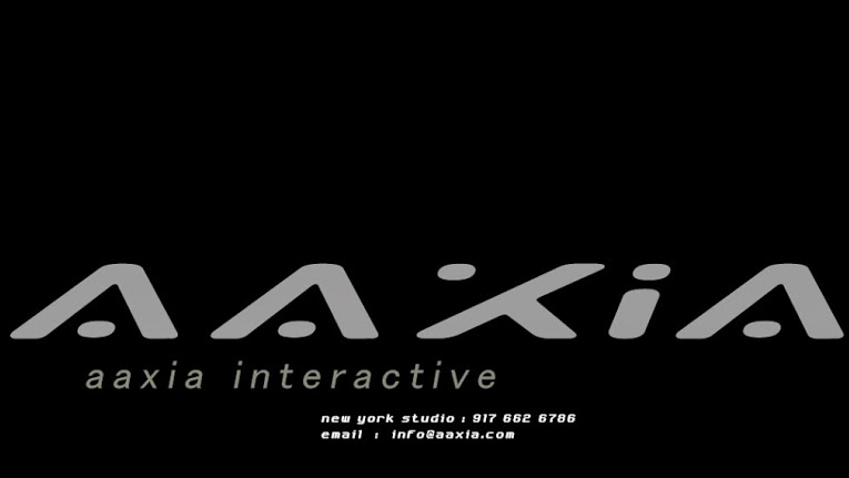 aaXia Interactive nyc web design
